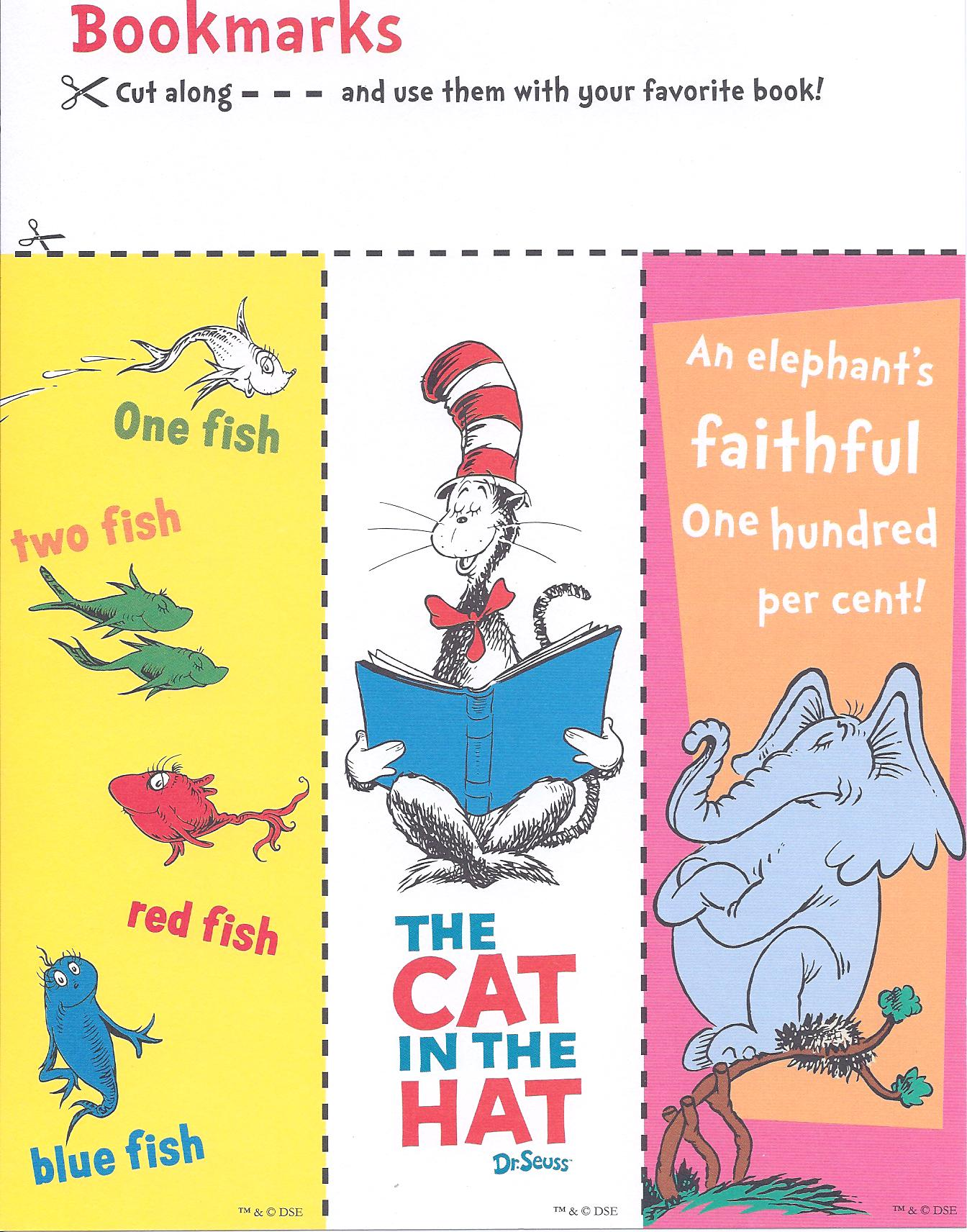 Free-Printable-Dr-Seuss-Printable-Bookmarks-these-are